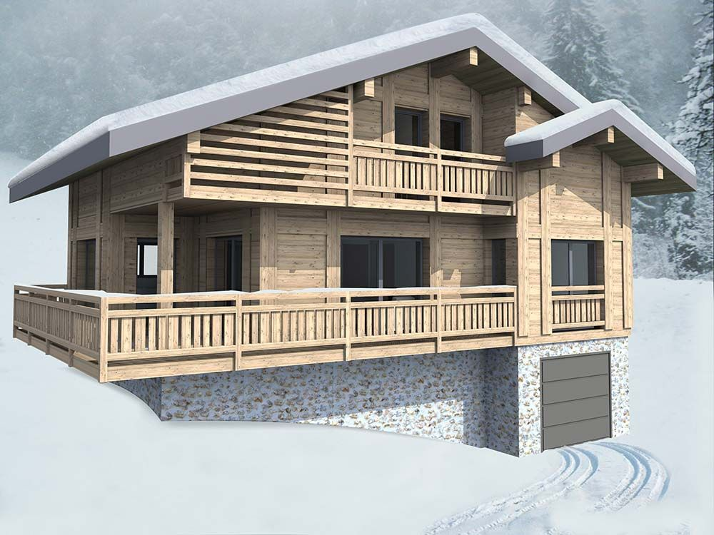 Chalet traditionnel Nacre